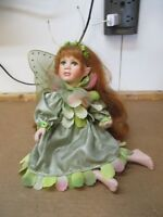 PARADISE GALLERIES TREASURE OF THE EMERALD FAIRY DOLL  FAST / FREE SHIPPING