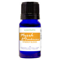10 ml Myrrh/Frankincense Blend Essential Oil (100% Pure & Natural) - GreenHealth