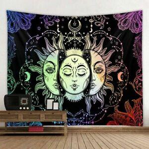 psychedelic painting wall hanging bohemian tapestry mandala wall art home decor