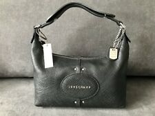 Longchamp Quadri Cuir Hobo Sac à main/noir/European Shipping