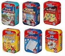 Stadt Land Fluss Mini-Spiele Spiel wählbar Kniffel Reisespiele Kinderspiele