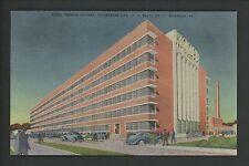 Industry Tobacco postcard Richmond, Virginia VA Model Tobacco Factory linen
