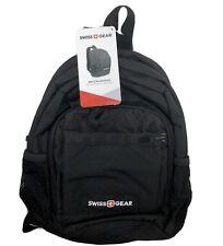 SWISS GEAR Mini Sling Travel Bag Shoulder Hiking Bicycle Black Backpack NEW NWT