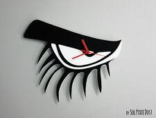 Clockwork Orange Eyelashes Minimalist Film Silhouette - Wall Clock