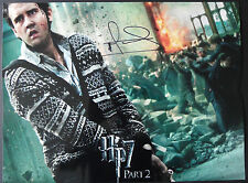 MATTHEW LEWIS Signed 16x12 Photo NEVILLE LONGBOTTOM In HARRY POTTER COA