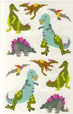 Mrs. Grossman's Giant Stickers - Dinosaurs - Retired! Blue & Green - 2 Strips