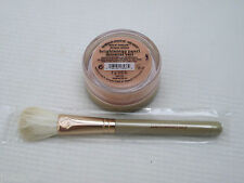 BARE ESCENTUALS bare Minerals * BRIGHTENING PEARL MINERAL VEIL 2g + BRUSH * $33