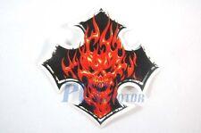 SKULL Decal Sticker ATV Motocross Buggy Honda Bike H DE17