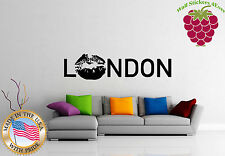 Wall Stickers Vinyl Decal  I Love London KIssing  England English  Europe z750