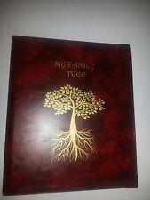 Mi Familia árbol-Historia De Almacenamiento Binder ref rojo con capacidad de 4d de 25 mm de metal