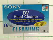 SONY DV HEAD CLEANER TAPE - NEW - SEALED