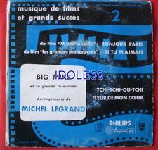 Disques vinyles 45 tours pour la musique de film avec compilation
