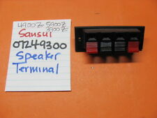 SANSUI 07249300 SPEAKER OUTPUT TERMINAL 5900Z 4900Z 3900Z STEREO RECEIVER