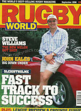 RUGBY WORLD MAGAZINE September 1996 Jon Sleightholme, Ray Green USA, Jonah Lomu
