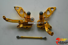 CNC Adjustable Rearset Foot pegs Rear set For Ducati 749 999 748 916 996 998 S G