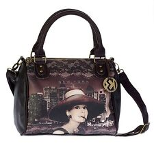 Women's Handbag Disney Bauletto shoulder strap Audrey Hepburn New York 94016