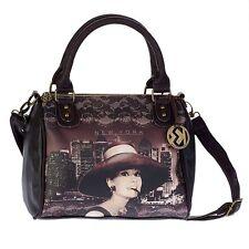 Borsa Donna Disney Bauletto tracolla Audrey Hepburn New York 94016