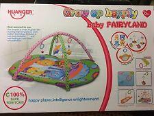 Baby Play Mat Gym Soft Activity Musical Play mat Kids Toys Gym Cartoon Plane