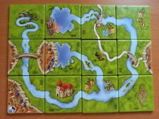Carcassonne RIVER 2 Mini Expansion - Original The River II , New Edition