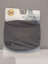 Buff ThermoNet Original Multifuncrional Headwear, Ultra Stretch, UPF 50, Gray