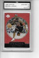 Michael Jordan 1998-99 Upper Deck Ovation FGS 10 Gem Mint Bulls HOF