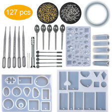Resin Casting Molds Kits Silicone Mold Making Jewelry Anhänger Mould Craft DIY