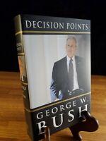 "George W. Bush ""Decision Points"" 2010 1st edition hardback book"