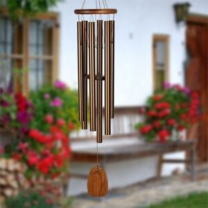WOODSTOCK CHIMES - Amazing Grace Chime - Large, Bronze - AGLBR