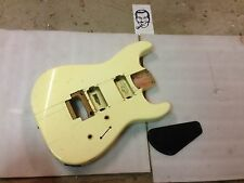 80's Vintage Charvel Model 3A HH Electric Guitar Body Cream