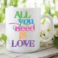 All You Need Is Love Becher The Beatles Geburtstag Arbeit Büro Tasse WSDMUG384