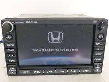 OEM HONDA CIVIC GPS NAVIGATION HEAD UNIT CD MP3 PLAYER XM SAT RADIO RECEIVER