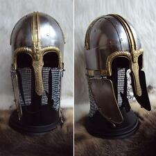 #R The Viking Coppergate Helmet Fully Wearable For Re-enactment Stage & Larp