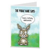 Funny Happy Birthday Card For Men Rude Insulting Offensive Perfect For All Ages