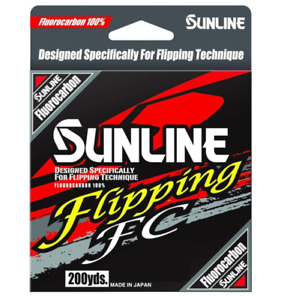 Sunline Flipping FC Fluorocarbon 200yd