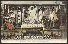 New Forest. Lyndhurst Church. St.Michael and All Angels. Reredos. Rare 1904 PC