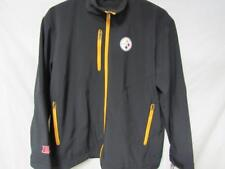 Pittsburgh Steelers Mens Large or 2XL Full Zip Screened Soft Shell Jacket B1 216