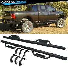 For 09-18 Dodge Ram 1500 2500 3500 Crew Cab Side Step Bar Running Board Black