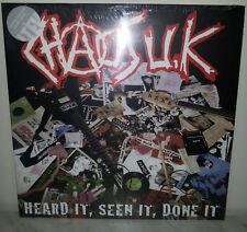 LP CHAOS UK - HEARD IT SEEN IT, DONE IT - NUOVO NEW