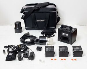 Profoto AcuteB2 600 AirS kit with AirSync Transmitter, spares, 3 LiFe batteries