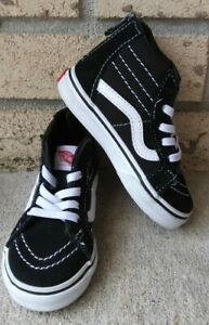 Vans Off The Wall Toddler High Top Shoes Size 7