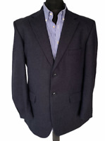 Vintage Sackville For Austin Reed Navy Blue Blazer Jacket 40 1980 S Ebay