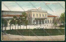Milano Monza Stazione cartolina QQ8238