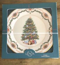 Lenox Russia 1996 Christmas Trees Around The World Plate Great Used Condition