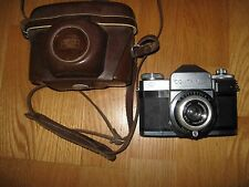 Vintage Zeiss Ikon Contaflex M13265 with Pantar 1:2.8 f=45mm #3448200lens Camera