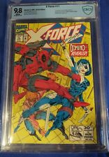 """X-Force #11 CBCS 9.8 wp 1st Appearance """"real"""" Domino n cgc"""