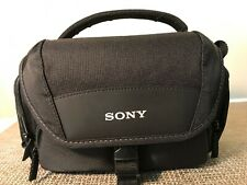 Sony Soft Carrying Case LCS-U21 Camera Case Bag - Customer Returned, No Box -New