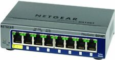 Netgear Prosafe Gs108tv2 Ethernet Switch - 8 Port 7 - (gs108t200nas)