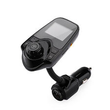 LCD Bluetooth Car Kit MP3 Player USB FM Transmitter Charger Modulator Handsfree