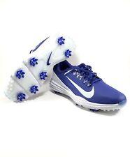 Nike Lunar Command 2 Size 10.5 Golf Shoes Deep Night Pure Platinum 849968-500