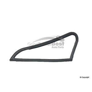 One New OE Supplier Vent Glass Seal Left 90154293123 for Porsche 911